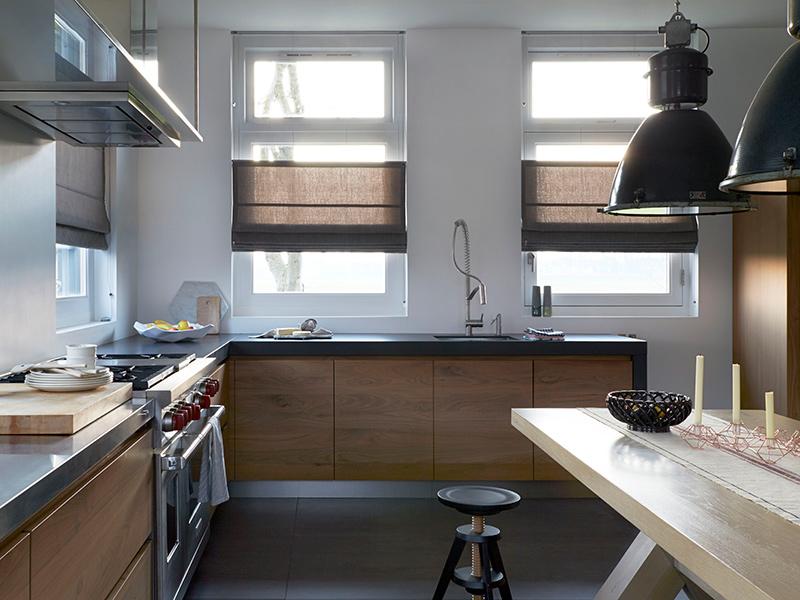 Raamdecoratie voor in de keuken my happy kitchen lifestyle